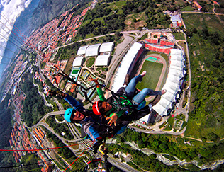 Vuelo Sobre el Estadio Metropolitano de Mérida